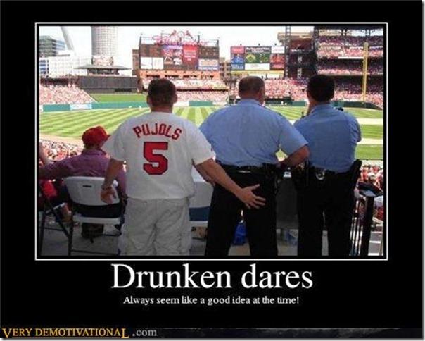 Drunken dares
