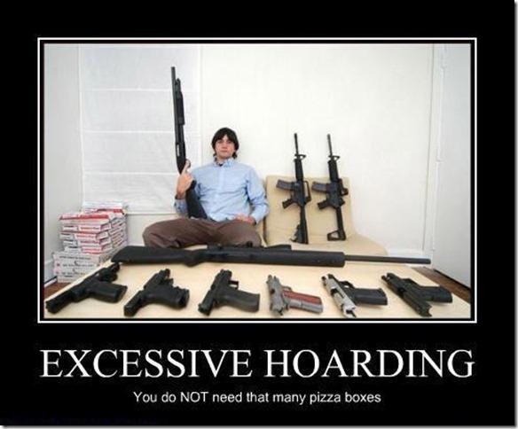 Excessive Hoarding