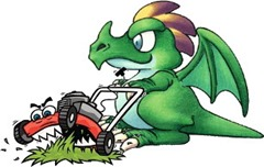 mowing dragon