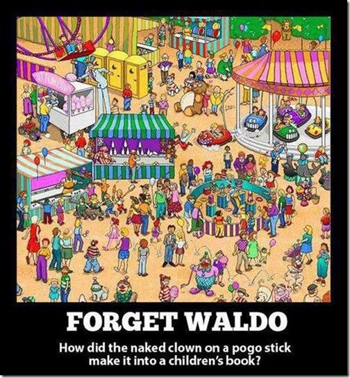 forget waldo