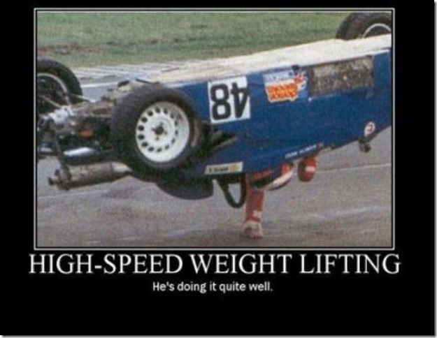 High speed weight lifting