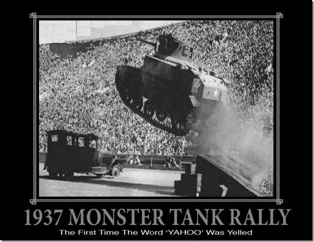 1937 Monster Tank Rally