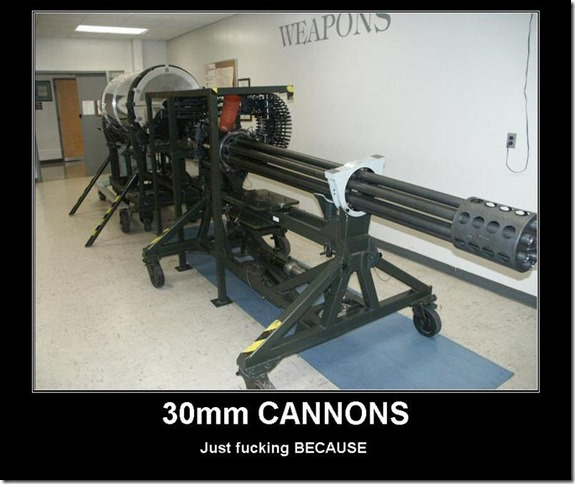 30mm cannons
