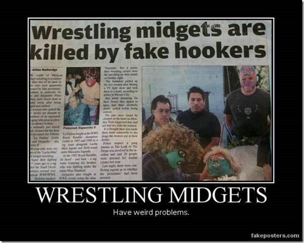 wrestling midgets