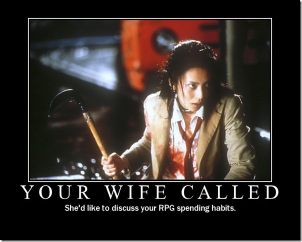 Your Wife Called
