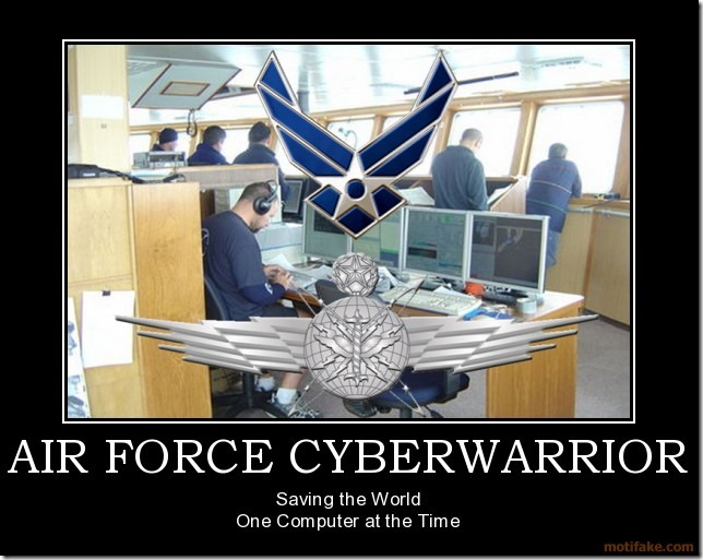 Air Force Cyberwarrior