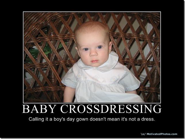 Baby Cross Dressing