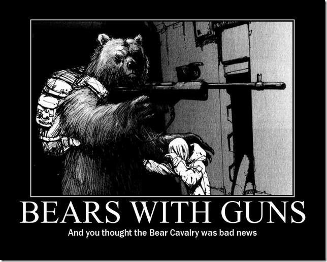 Bears With Guns
