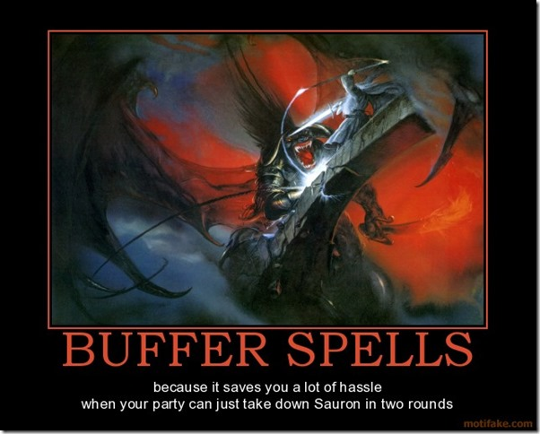 Buffer Spells