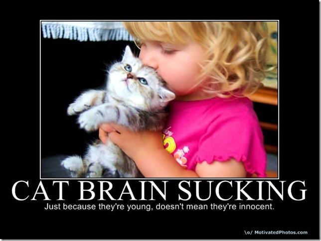 Cat Brain Sucking