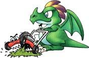 mowing dragon