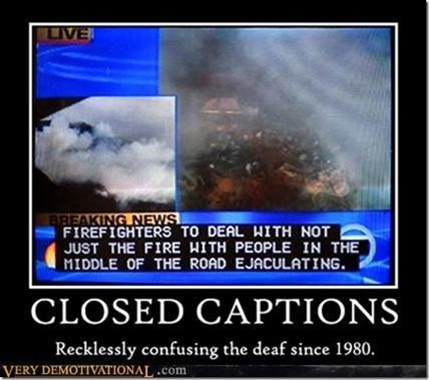Closed Captions