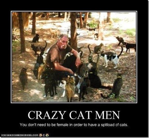 crazy cat men