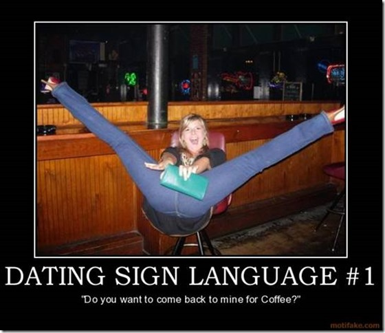Dating Sign Language #1