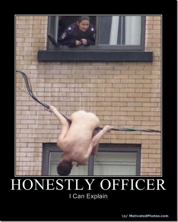 Honestly Officer
